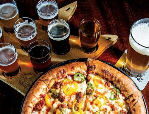 Cervejas especiais com pizza é no Forno D' Barro